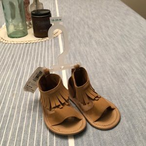 Old Navy Moccasin Sandals 18-24M NWT